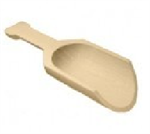 Wooden Scoops and Seashell Scoops
