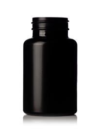 150 Cc Black Hdpe Vitamin Packer Bottle 38 400 Cap