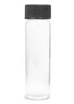 1/4 oz. Clear Glass Bottles