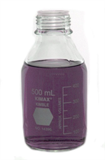500 ml Incremented Media Bottle